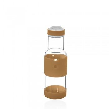 Бутылка для воды 350мл коричневого цвета 23259 - бижутерия оптом Arkos.
