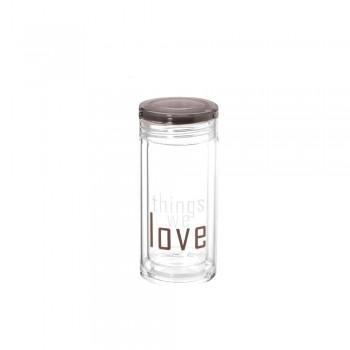 Бутылка для воды Love 230мл 23274 - бижутерия оптом Arkos.