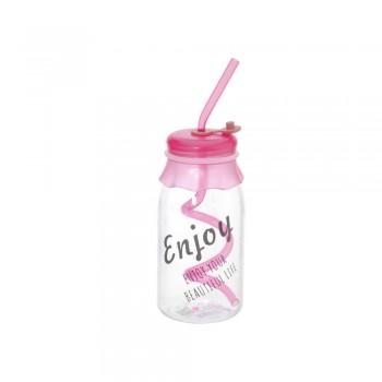Бутылочка коктейльная Enjoy 400мл 23313 - бижутерия оптом Arkos.