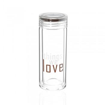 Бутылка для воды Love 300мл 23282 - бижутерия оптом Arkos.