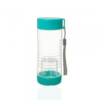 Бутылка пластиковая 450ml с заварником 23208 - бижутерия оптом Arkos.