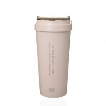 Термостакан Straw Plastic Cup 500мл 23336 - бижутерия оптом Arkos.