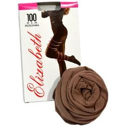 Колготки Elizabeth 1012 (100 den microfibre cappuccino, капучино)   1