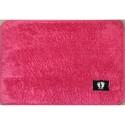 Коврик для ног микрофибра (р.40 х 60 см) розовый 23349