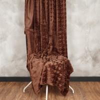 Плед микрофибра (p.220 x 240 cm) 6250 шоколад