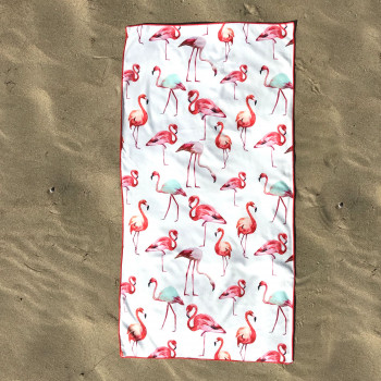 Полотенце пляжное (70 х 140 см) 19644 - бижутерия оптом Arkos.
