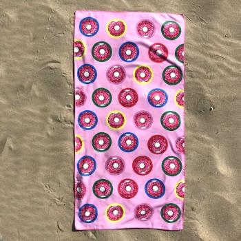Полотенце пляжное (70 х 140 см) 3427 - бижутерия оптом Arkos.