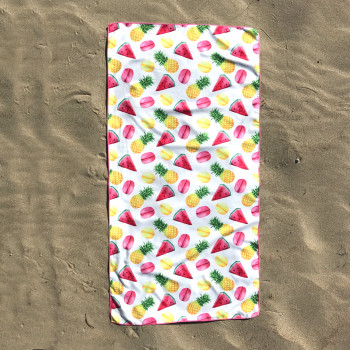 Полотенце пляжное (70 х 140 см) 3429 - бижутерия оптом Arkos.