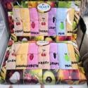 Кухонные махровые салфетки (р.25 x 48) в коробке 22166