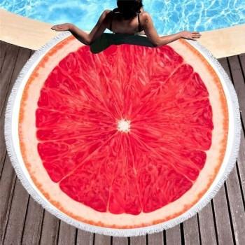 Полотенца пляжные круглые (Ø 150 см) 23197 - бижутерия оптом Arkos.