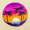 Полотенце пляжное круглое 23409