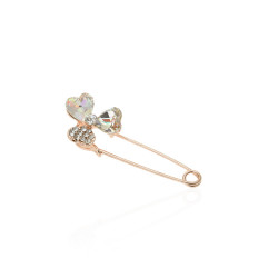 брошь-булавка металлическая Цветок 14059 1