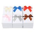 подарочная коробочка для набора белая с бантиком 15539 4