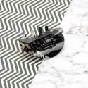 заколка-краб для волос французский пластик 10025 11