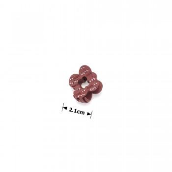 заколка краб для волос металл матовый 15776 - бижутерия оптом Arkos.
