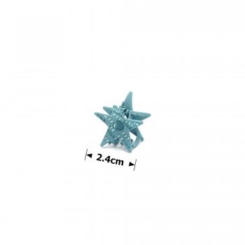 заколка краб для волос металл матовый 15777 - бижутерия оптом Arkos.