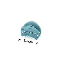 заколка краб для волос металл матовый 15781 1