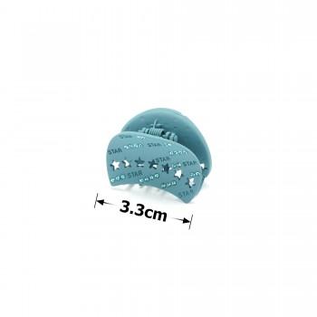 заколка краб для волос металл матовый 15781 - бижутерия оптом Arkos.