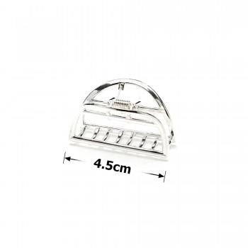 заколка краб для волос металлический 15784 - бижутерия оптом Arkos.