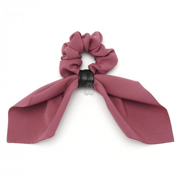 резинка для волос Твилли с платком из костюмной ткани 15901 - бижутерия оптом Arkos.