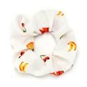 резинка для волос из шифоновой ткани с принтом фрукты 16042 2