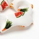 резинка для волос из шифоновой ткани с принтом фрукты 16042 3