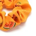 резинка для волос из шифоновой ткани с принтом фрукты 16042 9