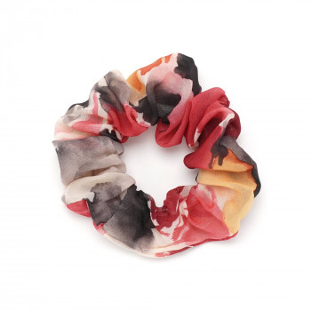 резинка для волос из шифоновой ткани 16054 - бижутерия оптом Arkos.