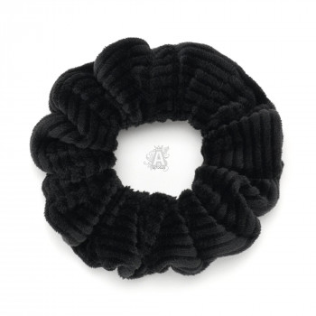 резинка для волос из вельветовой ткани 23786 - бижутерия оптом Arkos.