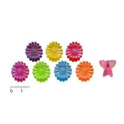 заколка-краб мелкий цветной 184 1