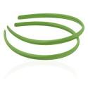 заготовка для обруча с атласной лентой z4 12649 — 0.9cm зелёная