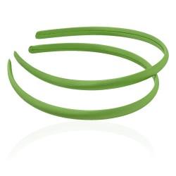 заготовка для обруча с атласной лентой z4 12649 — 0.9cm зелёная 1