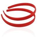 заготовка для обруча с атласной лентой z5 12661 — 1.5cm красная