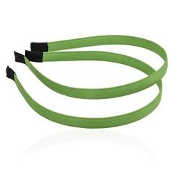 заготовка для обруча с атласной лентой z3 12665 — 1.0cm зелёная 1