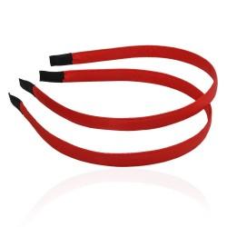 заготовка для обруча с атласной лентой z3 12669 — 1.0cm красная 1