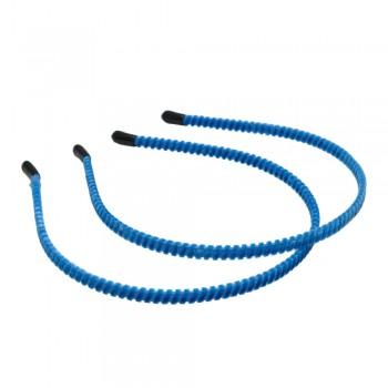 заготовка для обруча велюровая z6 12824 — 0.7cm голубая - бижутерия оптом Arkos.