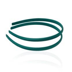 заготовка для обруча с атласной лентой z4 13258 — 0.9cm зелёная 1