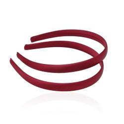 заготовка для обруча с атласной лентой z5 13264 — 1.5cm бордовая 1