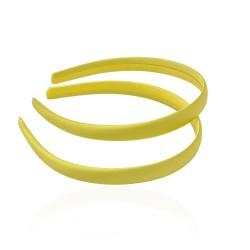 заготовка для обруча с атласной лентой z5 13266 — 1.5cm жёлтая 1