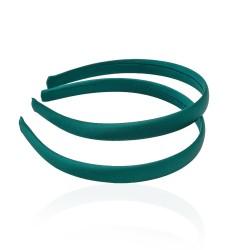 заготовка для обруча с атласной лентой z5 13269 — 1.5cm зелёная 1