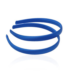 заготовка для обруча с атласной лентой z5 13270 — 1.5cm синяя 1