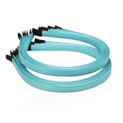 заготовка для обруча с атласной лентой z3 13279 — 1.0cm голубая 1