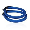 заготовка для обруча с атласной лентой z3 13280 — 1.0cm синяя