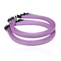 заготовка для обруча с атласной лентой z3 13281 — 1.0cm фиолетовая