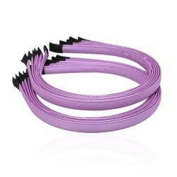 заготовка для обруча с атласной лентой z3 13281 — 1.0cm фиолетовая 1