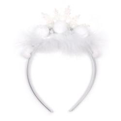 обруч для волос со снежинкой 15558 1