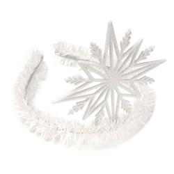 обруч для волос со снежинкой 15580 1