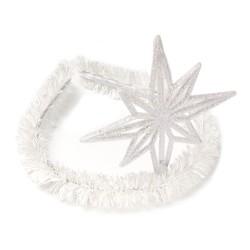 обруч для волос со снежинкой 15581 1