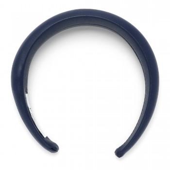 обруч для волос широкий из эко кожи 16037 - бижутерия оптом Arkos.