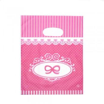 пакеты подарочные целлофановые 15x20см 12728 - бижутерия оптом Arkos.